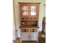 Solid Oak Kitchen Dresser (MINT)