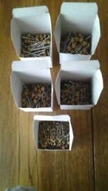 Light oak polytop nails /pins