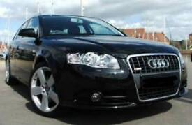 Black Audi A4 2L TDI S-line Breaking for parts