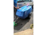 fibreglass motorbike trailer