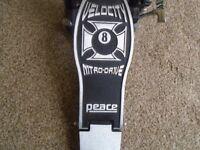 Peace nitro drive Kick pedal Dual chain drive