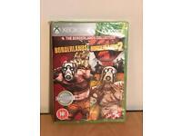 Borderlands 1&2 unopened for Xbox 360
