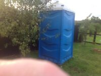 Portable toilet and wash basin