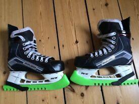 Bauer Vapor X300 Ice Hockey Skates size UK 3.5