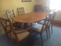 Dining Table Chairs Extendable