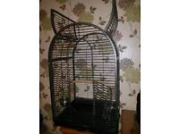 Opne top Parrot cage