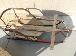 Vintage wooden sled for sale