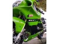 1997 Kawasaki zx7r ninja 750cc £1200 in new parts, swap for 125cc plus cash