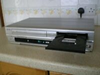 dvd / vcr recorder combi copy tape to dvd
