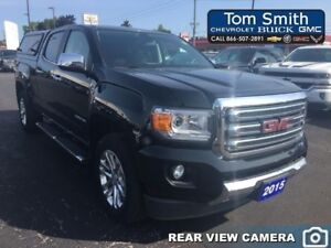2015 GMC Canyon 4WD SLT - LEATHER, BLUETOOTH, CAP, REAR VISION C