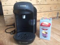 Bosch Tassimo Coffee Machine and Pods