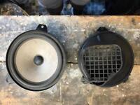 BMW E42 Rear Speakers with Adapters