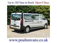 2016 (66) VAUXHALL VIVARO 2900 LWB 9 SEAT MINIBUS / COMBI 120BHP BI TURBO