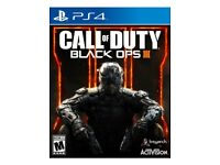 PS4 games bundle BO3, Fifa 17, GTA 5 & uncharted