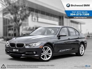 2014 BMW 3 Series 328i Xdrive Sport Line! Local Car! 1 Owner!