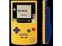 gameboy colour limited edition pokemon