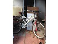 Downhill bicycle bycycle bike triple clamped forks