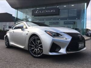 2015 Lexus RC F Performance Pkg Navi Backup Cam Leather