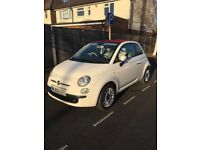 2013 Fiat 500 C Lounge Convertible 1.2 Manual Low Mileage HPI Clear