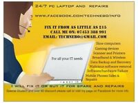 PC/Laptop/Mobile phone Sale-Repair-Upgrades, We buy for spare or Fix it for you