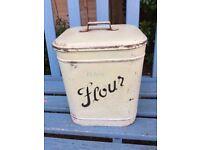"""Vintage """"Flour"""" Tin"""