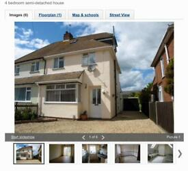 4 Bed Semi Detached House to Let