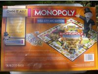 monopoly hull city afc board game