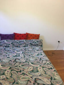 One room is available in two bedroom apartment