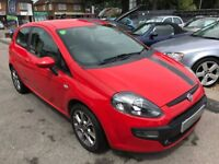 2010/60 FIAT GRANDE PUNTO EVO GP 3DR RED,LOW MILEAGES,STUNNING LOOKS,HIGH SPEC,LOOKS +DRIVES WELL