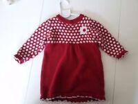 4 dresses 6-12 months - Jasper Conran, Zara, Bambini, Strawberry Fair - Excellent condition