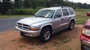 2002 Dodge Durango R/T - MOVING SALE