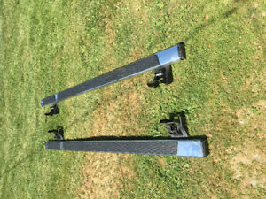 Month old 2015 Dodge Ram 1500 crew cab running boards