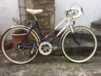 Vintage Raleigh Topaz small frame bike bicycle 5 gears great condition