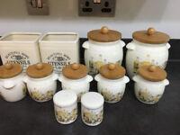 Assorted Ceramic Storage Jars