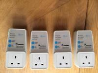 4 x Comtrend Ethernet Adaptors
