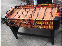 Freestanding Football Table With 2 Balls