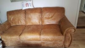 Distressed sofa great condition