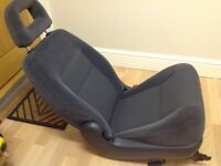 2x Ford Galaxy Ghia people carrier rear car seats. Grey Velour in very good condition. Hardly used.