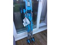 Brand new Tesco value blue basic stroller