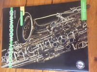 Saxophone Music Book with CD