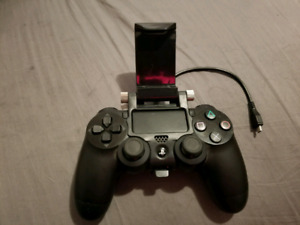 Ps4 controller and cell phone holder