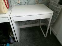 Desk with draw
