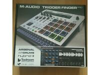 Trigger Finger Pro drum machine and sequencer midi controller