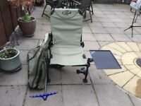 Nice fishing chair great condition