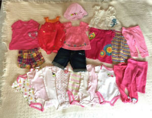 Baby girl clothes, 6 months