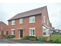 NEW-LARGE 4 BEDROOM DETACHED HOUSE WITH SINGLE GARAGE -2 BATH -2 VERY LARGE RECEPTION ROOMS