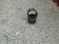 100mm rubber coupling for soil stacks and rain water pipe repairs
