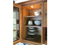 Kitchen cupboards - solid wood.