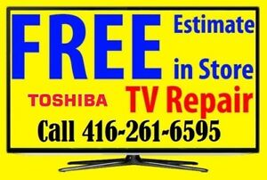 Toshiba TV repair LED HDTV, LCD TV, NO POWER, No Picture