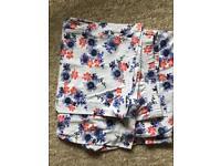 Women's floral PJ bottoms